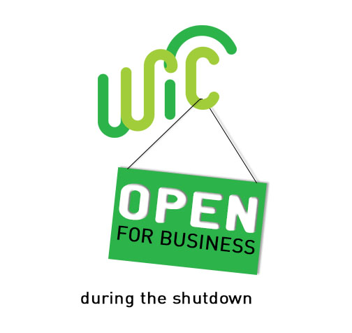 icon WIC is Open during shutdown